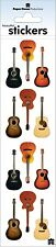 Scrapbooking Crafts Stickers Paper House Acoustic Guitars Repeats