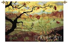 53x38 APPLE TREE Fruit ASIAN Tapestry Wall Hanging