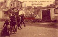 ITALY. REGGIO CALABRIA DOPO IL TERREMOTO DEL 1908 CORSO DELLA MARINA