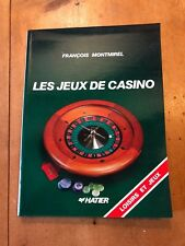 "1987 ""LES JEUX DE CASINO"" FRENCH-TEXT GAMBLING ILLUSTRATED PAPERBACK BOOK"