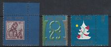 AUCT1175) Faroe Islands 1981, '82 & '90 Christmas Seals x3 MUH