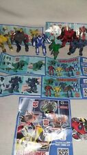 Collection complete tranformers kinder surprise Argentina Mexico