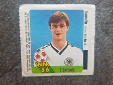 Ferrero Hanuta Sammelbild Thomas Berthold DFB GER Fußball WM 86 Nr. 5 Rarität!