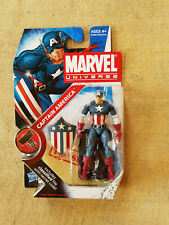 B20 Marvel Universe Captain America Action Fig MOC Sealed Hasbro Series 2 #8