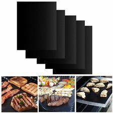 3/6pcs Tapis de barbecue Feuille de Cuisson BBQ Grill Réutilisable Anti-adhésif
