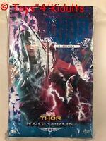 Hot Toys MMS 445 Ragnarok Gladiator Thor Chris Hemsworth 1/6 Figure Deluxe NEW