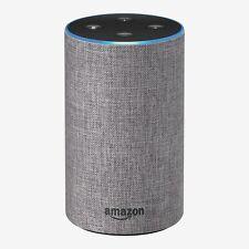 Amazon Echo 2nd Generation Home Smart Assistant Speaker w/ Alexa - Heather Gray