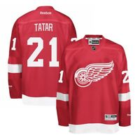 Tomas Tatar Reebok Detroit Red Wings Official Home Red Premier Jersey Men's