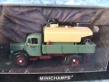 "1/43  Minichamps 1950 Mercedes L 3500K Kipper Tanker ""Gilles,Stolberg"" truck"