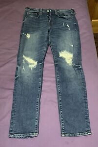 New Divided H&M Men Skinny Jeans Size 34
