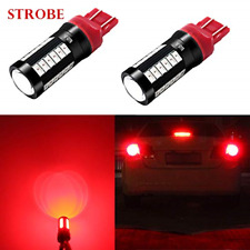Alla Lighting T20 7440 7443 LED Flash Brake Lights Bulbs 2800 Lumens Xtreme 12V