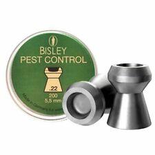 Bisley Pest Control .22 / 5.5mm Hollow Point Pellets - Choose Quantity