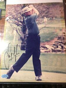 Champion Golfer Bernard Langer Signed Photo 8x10 COA Mounted Memories