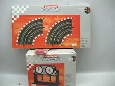 Carrera Profi 71581+71505+72553 Rundenzähler Kurve Schienenverbinder NEU + OVP