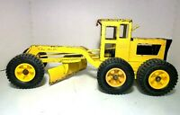 Vintage  Tonka   'Yellow Tonka Road Grader'  Pressed Steel