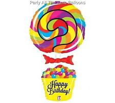 """GIANT 40"""" LOLLIPOP candy PARTY Balloon CANDYLAND birthday SwEeT 16 Free Ship"""