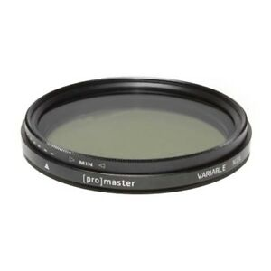 ProMaster 40.5mm Variable ND Filter