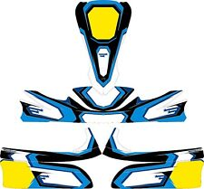 STARS BLUE CUSTOM FULL KART STICKER KIT - KARTING - GO KART - JakeDesigns