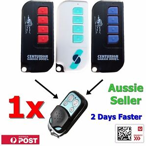 1x Avanti/Centurion Garage Door TX4/MPS/DPS/SDO21/12 4 Button Remote T Series