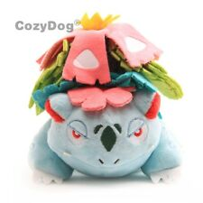 Mega Venusaur Plush Soft Toy Doll Stuffed Animal Bulbasaur Final Evolution 6.5""