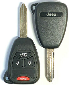 NEW JEEP LIBERTY 2005-2007 Remote Key Fob M3N5WY72XX BEST Quality USA Seller A+