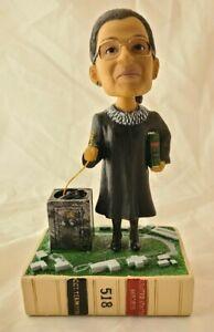 Justice Ruth Bader Ginsburg RBG Green Bag Bobblehead