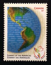 Canada #1902 MNH, Summit of the Americas Stamp 2001