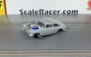 Grey '55 Chevy Gasser #1506 Body(ONLY) for Aurora 4-gear type chassis