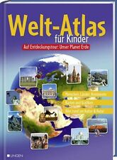 toller Welt - Atlas für Kinder! Auf Entdeckungstour: Unser Planet Erde (LINGEN)