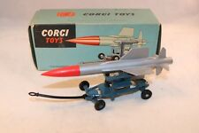 """Corgi Toys 350 """"Thunderbird""""Guided Missile mint in box all original condition"""