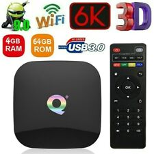 Q Plus Smart TV-Box Android 9.0 Allwinner H6 4GB/64GB 6K H.265 WiFi Media Player