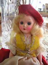 Vintage 7 1/2 inches High Plastic Doll - Good condition But sold As/Is - #02