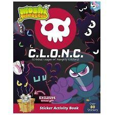Moshi Monsters C. L. O. N. C. Sticker Activity Book CLONC 2014 Children's Book