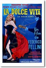 La Dolce Vita - NEW Vintage Movie Film Reprint POSTER