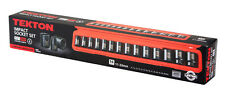 "15pc 1/2"" Drive Shallow Impact Socket Set METRIC- 6 PT."