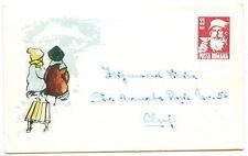 Romania 1964 Santa Claus  Liliput stationery cover (2)