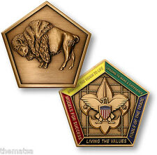 BOY SCOUTS BUFFALO WOOD BADGE PATROL CHALLENGE COIN