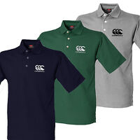 Canterbury Polo Shirt CCC Embroidered Logo Mens New Rugby Superb