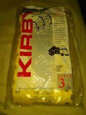 6 Yellow Genuine Kirby Vacuum Cleaner Bags Style #3 -