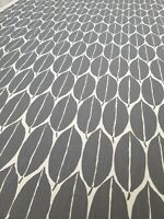 Harlequin Rie Charcoal Curtain Craft Fabric 2 Metres Linen Blend