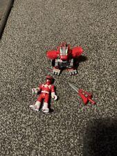 Imaginext DKP35 Power Battle Armor Red Ranger Figure