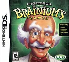 Professor Brainium's Games - Sudoku Cross Sums Mahjongg DS/Lite/DSi/XL/3DS NEW