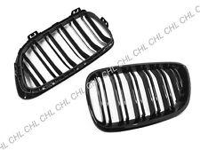 M2 Style Gloss Black Front Grille For 2014-17 BMW F22 F23 220i 228i 235i M235i