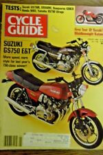 Cycle Mag January 1982 - Suzuki GS750 E&T