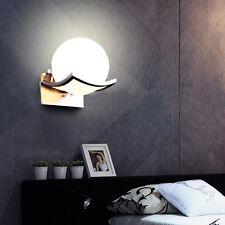 Spherical Glass Ball Wall Light Study Bedroom Bedside Aisle Creative Wall Lamp