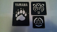 Yamaha Grizzly 450 350, Big Bear 400, Bruin 350 Fender Warning Tags /NO decal