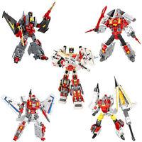New Battleplane Transformation five Robots Action Figure 25-48cm  Model Toy set