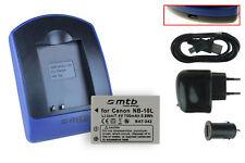 Chargeur+Batterie (USB) NB-10L pour Canon PowerShot G15, G16, G1X