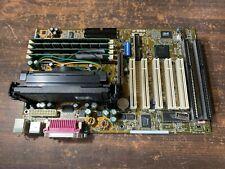ASUS P3B-F MOTHERBOARD SLOT 1 ATX AGP PCI 440BX w/ CPU & Ram