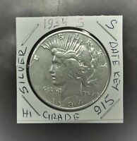 1934-S San Francisco Mint Silver Peace Dollar KEY DATE  # 915  V6